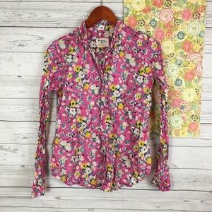 Anthropologie Holding Horses 4 western Floral Top